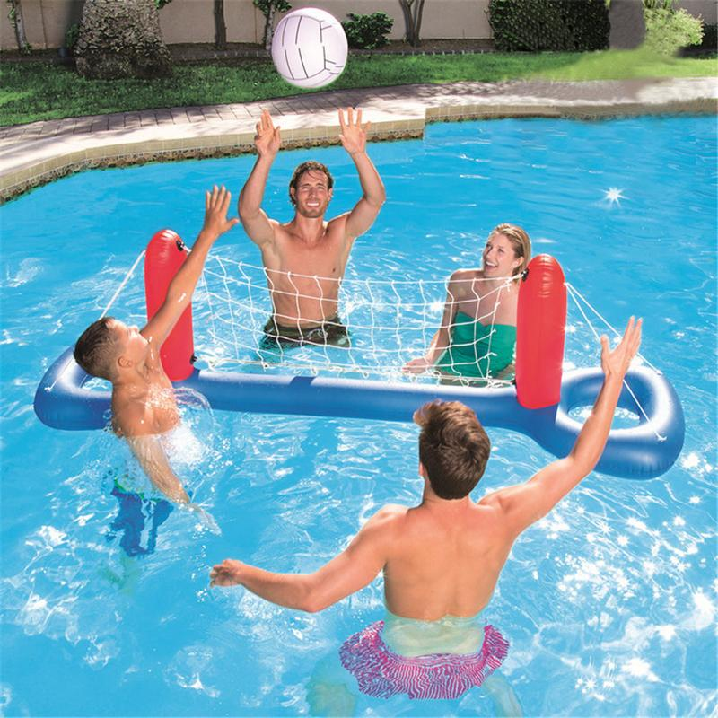 Inflatable Football Goal Volleyball Basketball Water Balloons Swimming Pool Sports Game Toys Beach Party Ball For Children Adult(China)