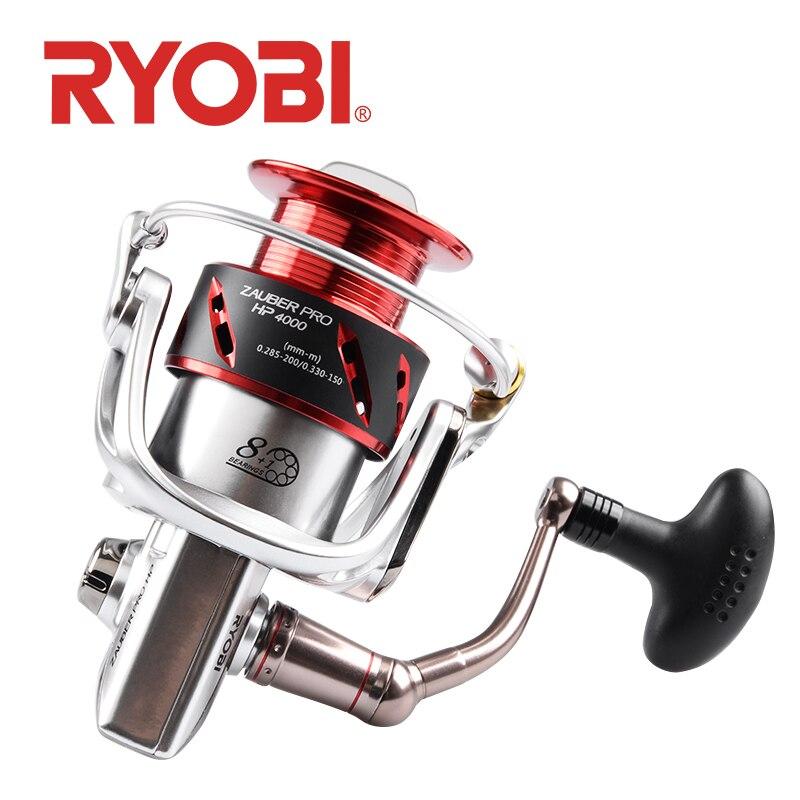 RYOBI ZAUBER PRO HP Angelrollen Spinnrad 8 + 1BB Getriebe Verhältnis 5,1: 1/5. 0:1 salzwasser selbst verriegelung griff reel angeln - 4