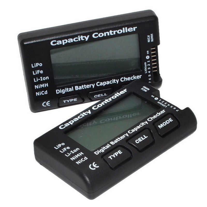 Цифровой Батарея тестер ЖК дисплей цифровой Ёмкость анализатор напряжения