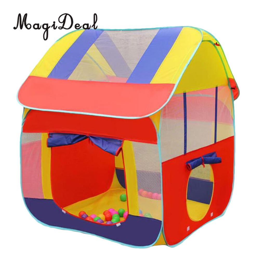 Portable Kids Children Play house Indoor Outdoor Pop Up Tent Toy for Home Garden Beach Backyard Park Party Camping Day Care magideal portable kids children baby play house indoor outdoor pop up tent toy for home party garden park picnic beach camping