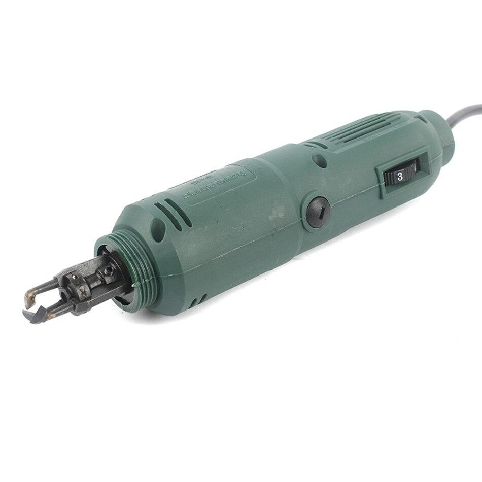 DF-6 Enameled Wire Stripping Machine Varnished Wire Stripper Enameled Copper Wire Stripper Cleans enamel wire EU Plug/US Plug