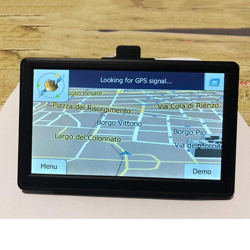 7 Inch Car Truck GPS Navigation 256M RAM 8GB Support Russia EU Norht South America Asia Africa AU NZ Middle East Maps Without Bl7 Inch Car Truck GPS Navigation 256M RAM 8GB Support Russia EU Norht South America Asia Africa AU NZ Middle East Maps Without Bl