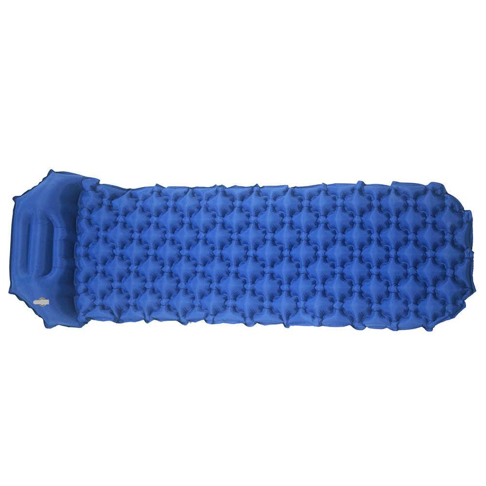 Надувной матрас для отдыха на открытом воздухе спальный мешок коврик быстрое наполнение воздуха водонепроницаемый туристический коврик матрас с подушкой спальный коврик