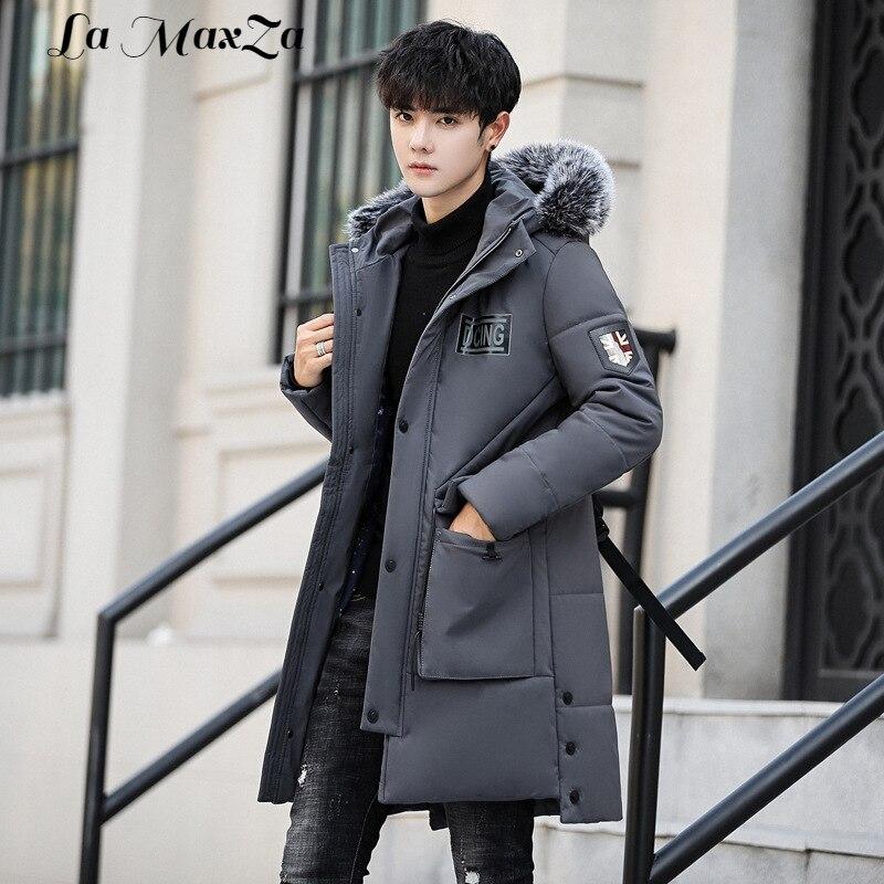 Uomo Solido Regolare Vestiti Uomini Inverno Caldo Cappotti Chiusura qTXpCn