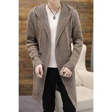 Zollrfea Spring/Autumn Warm Sweater Men Computer Knitted Men Cardigan Sweaters Casual Male Slim Fit Plus Size M-3XL CA0416