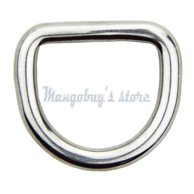 20 PCS New Delta Ring Shape 316 Stainless Steel Polished Welded 15 20 25 30 Mm Kayak Accessories Boat Accessories Marine Paddle