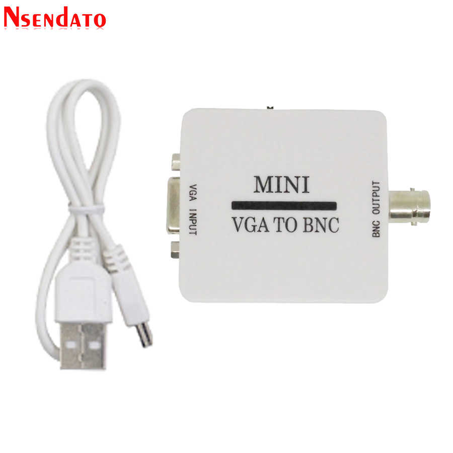 mini hd vga to bnc video converter convertor box composite vga to bnc adapter conversor digital [ 900 x 900 Pixel ]