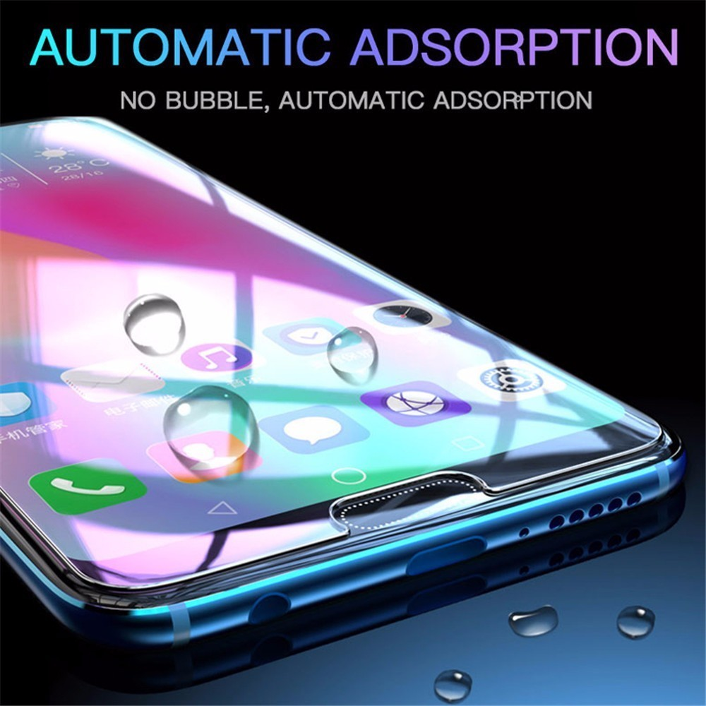 Tempered Glass Film For Huawei Y6 2019 Y7 2019 Y9 P Smart Nova 4 Honor 8X 8C 8A 9 10 Lite Screen Protector Protective Film 2 5D in Phone Screen Protectors from Cellphones Telecommunications