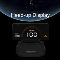 Car Engine failure detection Head up Display OBD Speedometer SpeedSystem Projector Windshield Auto Electronic Voltage Alarm