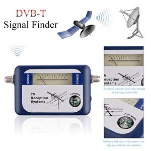 Image 4 - Forstandard DVB T محدد رقمي إشارة مكتشف استقبال التلفزيون مع البوصلة هوائي مؤشر كثافة متر هوائي عبر الأقمار الصناعية
