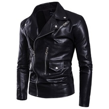 Factory Direct Mens Leather Aowofs2019 Motorcycle Jacket European Code