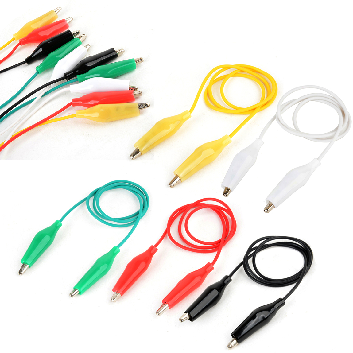 SE TL10 10-Piece Test Lead Set with Alligator Clips Authorized Distributor