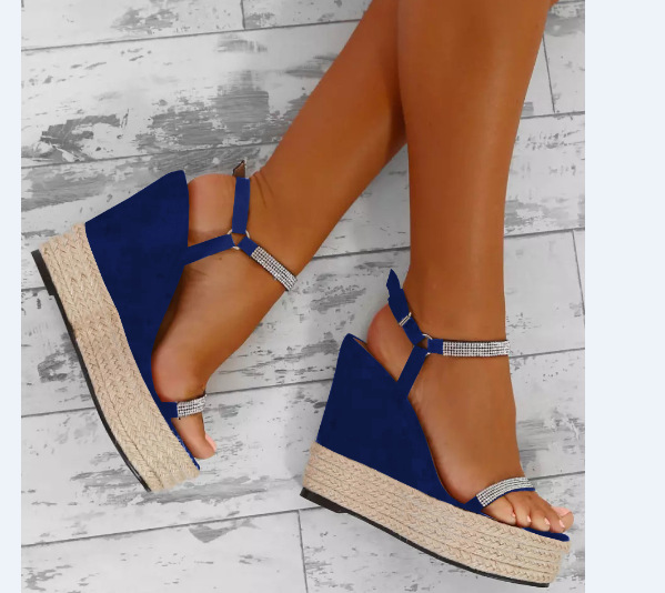 202e01097f41c Detail Feedback Questions about Large size Wedges Rhinestones Sandals 34 43  yards 2018 summer explosions Fashion Trends women shoes on Aliexpress.com  ...
