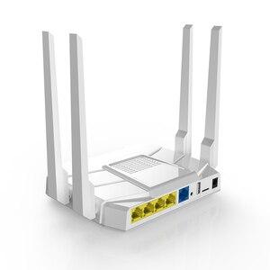 Image 2 - 11AC MU MIMO wzmacniacz sygnału Wifi 100 mb 2.4G / 5G dwuzakresowy 5dBi o wysokiej mocy anteny 1167 mb/s 1GHz