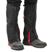 Outdoor Camping Leg Gaiter Mountain Snow Leg Gaiters Windproof Waterproof Shoes Cover Dust-proof Leg Gaiter(China)