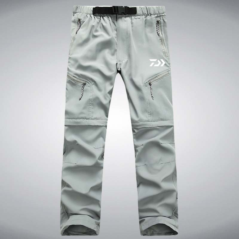 1PC DAIWA Summer Long Fishing Pant Cycling Camping Trouser Casual Mountaineering Beach Pants Detachable Breathable Pesca Pants