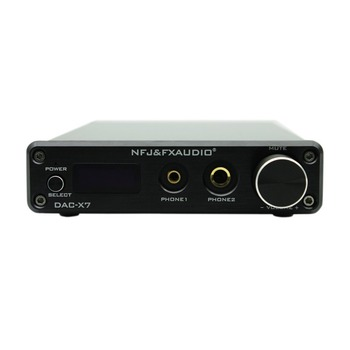 Nfj&Fxaudio Fx-Audio Dac-X7 Hifi 2.0 Audio Digital High Power Amplifier Home Mini Professional Amp Tpa3250 Ne5532 x2 70W x2