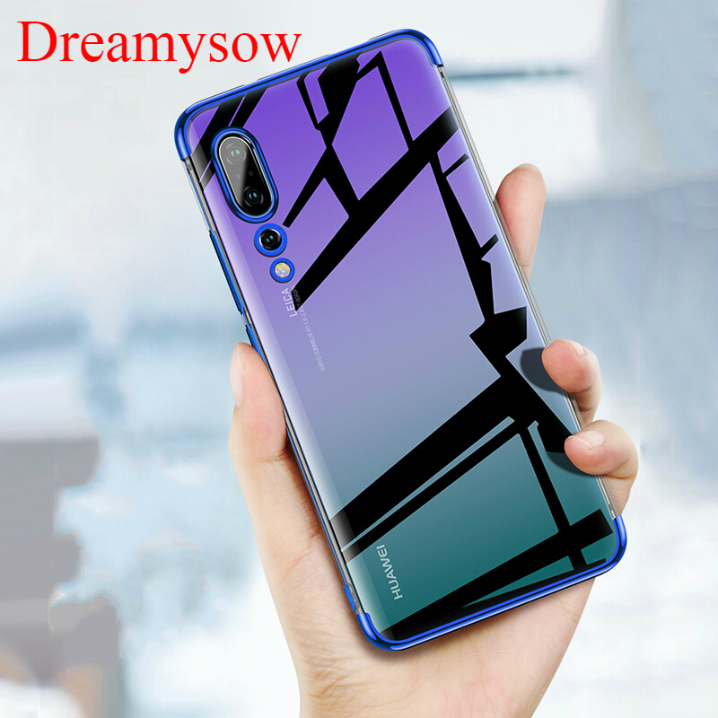 Plating Case For HUAWEI Nova 3i 3 4 P20 P30 Pro P10Lite Mate20 Lite P Smart Honor8C 8A 10 Lite Clear Soft Silicon TPU Case Cover