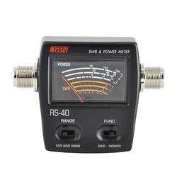 Rs 40 Swr/miernik mocy 140 150Mhz 430 450Mhz 200W dla walkie talkie Nissei|Adaptery AC/DC|   -
