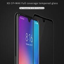 NILLKIN XD CP+MAX Mobile Screen Protectors for Xiaomi Mi 9 Explore Full Coverage Tempered Glass Film For Xiaomi Mi9 mi 9 explore