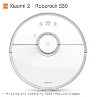Present Gifts Original Xiaomi Roborock S50 Robot Vacuum Cleaner Wet Mopping Sweeping Robot Vacuum Cleaner Remote App Control