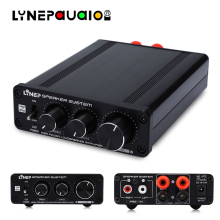 68W+68W Digital Power Amplifier TDA7498+LM1036 Chip High and Low Sound Adjustment Suitable for Family Church Shop Applications lm3886 68w 68w stereo amplifier board 3pcs total