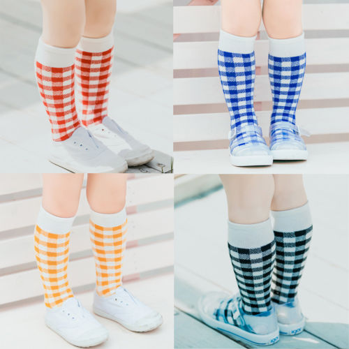 4ffd45a88 1Pair Brand New Girls Cartoon Toddler Warm Long Socks Kids Child Knee High  Socks Cotton Socks-in Socks from Mother   Kids on Aliexpress.com