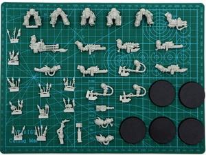 Image 1 - Cuerpo terminador del caótico (sin pecho, cabeza y hombros) para usar con Khorne o Nurgle upgrade ktis