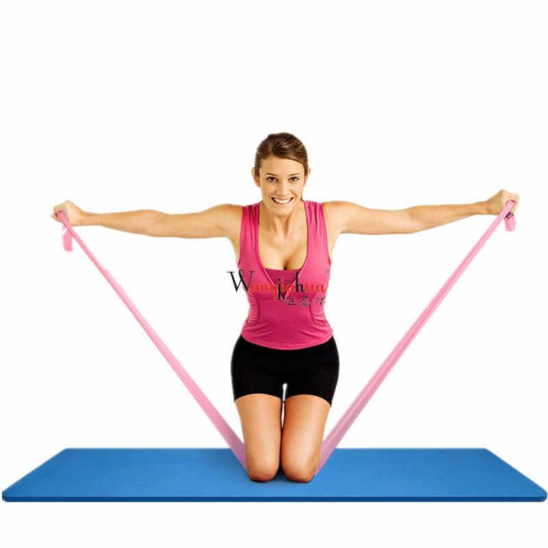Banda de tensión para Yoga banda elástica Fitness nan nv resistencia con fuerza entrenamiento estiramiento banda de látex Pull Rope la li pian