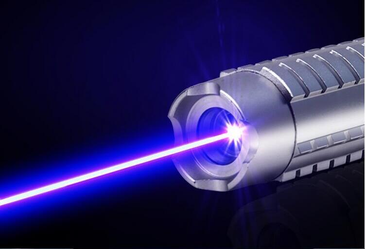 Blue450nm vert 532nm aser pointeur avec 5 étoiles capaser pen Focussable GROS LAZER combustion correspondance/papier/bois sec brûler