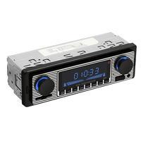 DC12V Bluetooth Auto Car Radio 1DIN Stereo Audio FM Radio Receiver Support Aux Input SD USB Remote Control MP3 Player