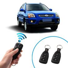 Universal Car Alarm Systems Auto Door Lock Vehicle Keyless Entry Keychain System With Remote Styling Controller