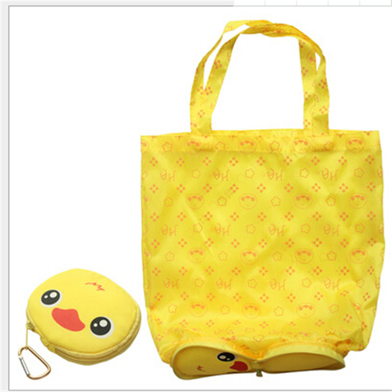 Cute Bear Foldable Shoppping Bag Reusable  Shopping Carry Bags Tote Easter Children's day Bag
