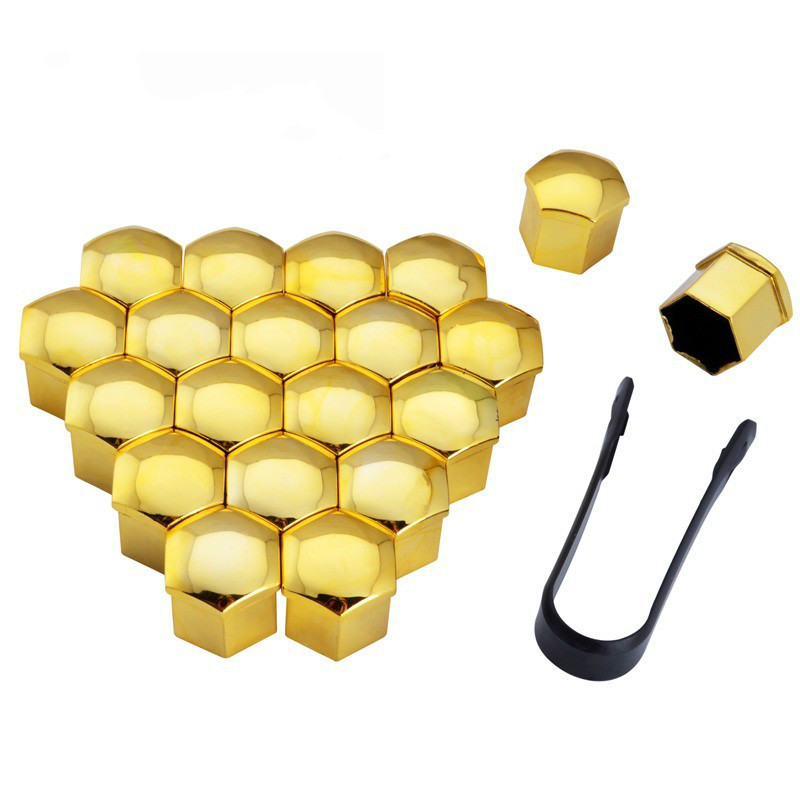 Hard-Working Ns Modify 20pcs 19mm Car Wheel Hub Screw Cover Bolt Caps Screw Decoration Wheel Nut Cover Cap With Removal Tool Silver Gold Sales Of Quality Assurance Nuts & Bolts