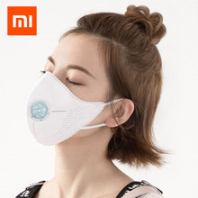 1pc Xiaomi Mijia Airpop Light 360 Degree Air Wear PM2.5 Anti-haze Mask Adjustable Ear Hanging Comfortable Face Masks Men Women