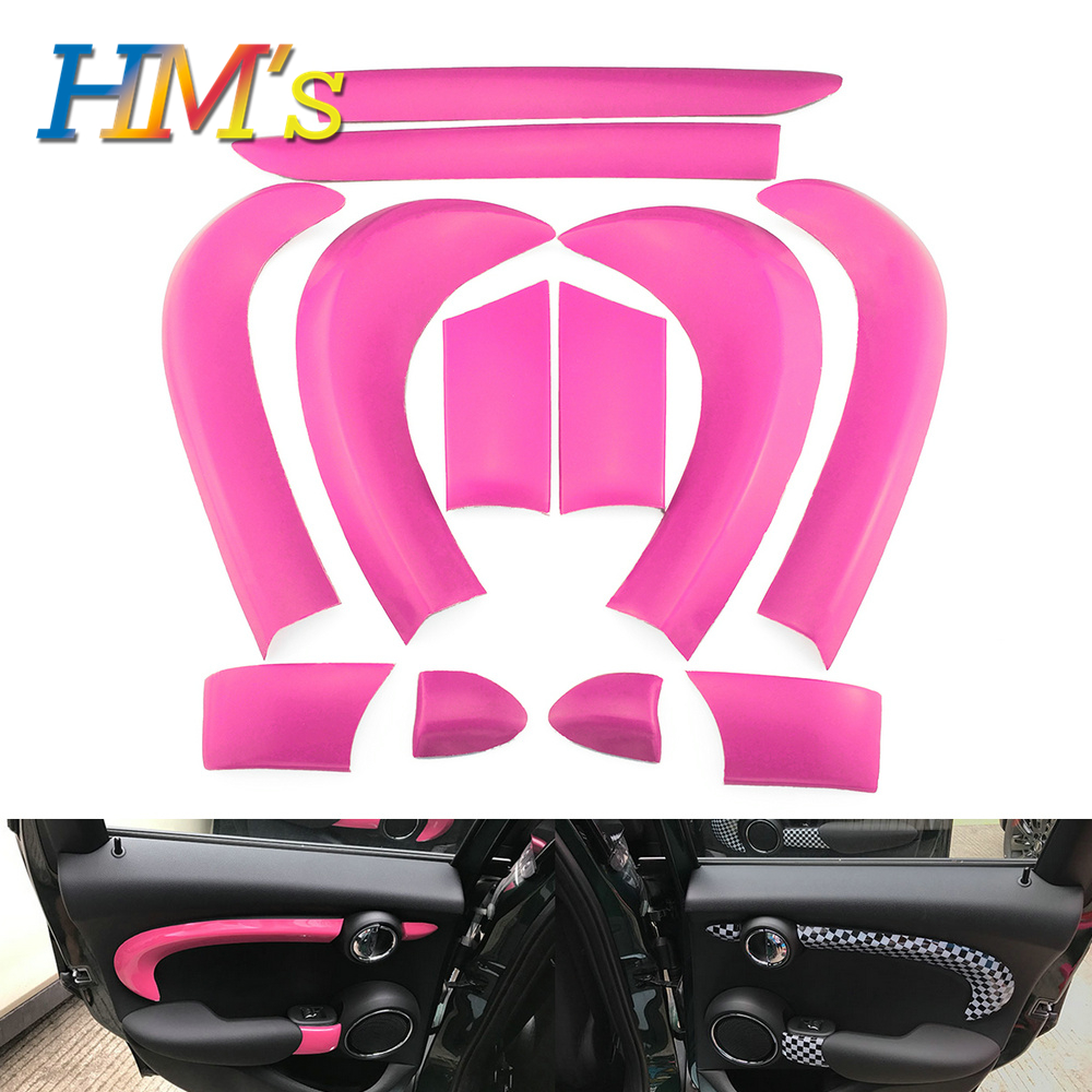 For MINI Cooper F55 Car Door Anti scratched Decoration Sticker Cover For MINI Cooper Accessories Styling