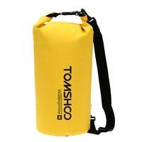 TOMSHOO 10L 20L плавание Водонепроницаемый сумки хранения гермомешок сумка с чехлом для путешествий каяк каноэ Кемпинг Рюкзаки