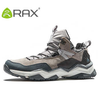Rax Men Hiking Shoes Waterproof Outdoor Sneakers for Men Lightweight Outdoor Jogging Shoes Mountain Shoes for Men Trekking Shoes - DISCOUNT ITEM  53% OFF All Category