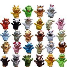 28 стилей, большая рука, кукла, животные, плюшевые игрушки, детская ткань, обучающая познавательная ручная игрушка, пальчиковые куклы, волк, свинья, тигр, собака, кукла
