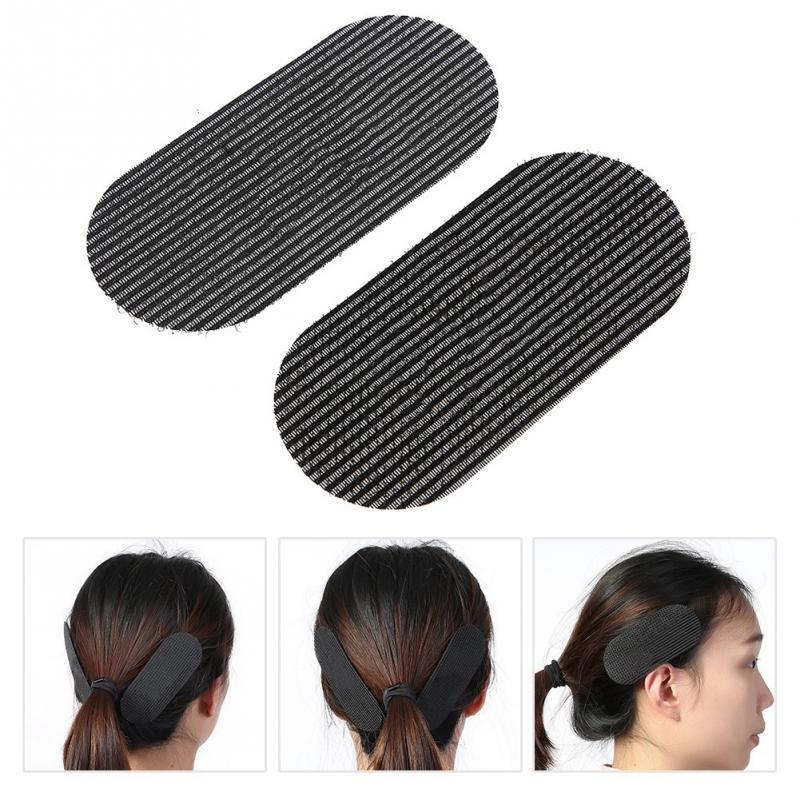 2Pcs Hair Grip Hair Styling Bangs Paste Posts Hair Sticker Clip Magic Tape Fringe Hair Bang