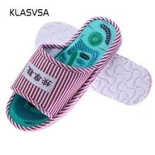 KLASVSA Reflexology Foot Acupoint Slipper Massage Promote Bl