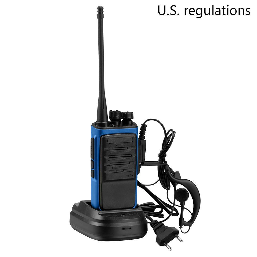New BF 888S 400 470 MHz Walkie Talkie Yes Two Yes Transceiver Way Radio Earpiece 1500mAh Battery Yes