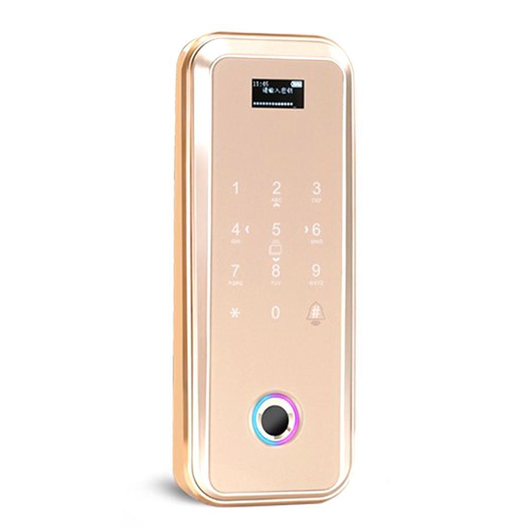 Home Smart Electronic Digital APP IC Card Fingerprint Password, Fingerprint, App, <0.5S Password Door Lock