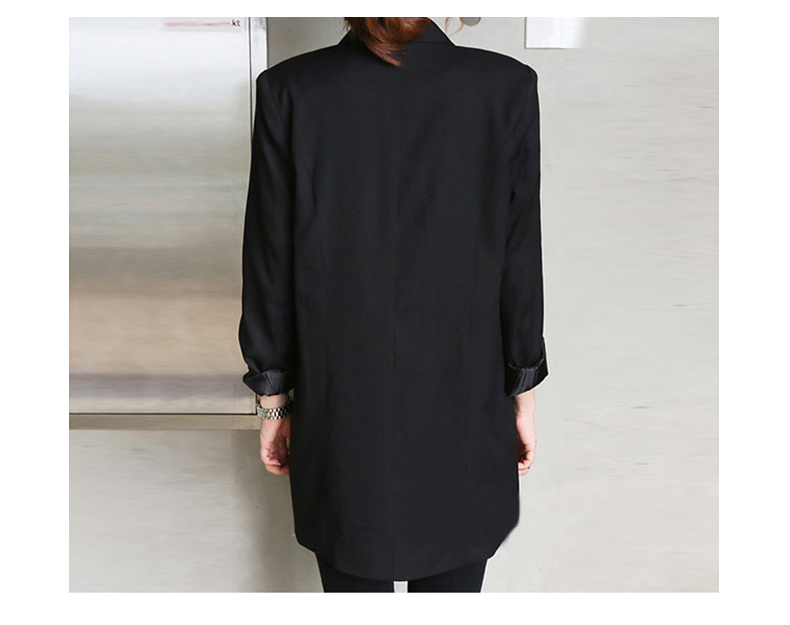 Business small suit autumn and winter new slim slimming long-sleeved women's small suit jacket Korean version of the small suit