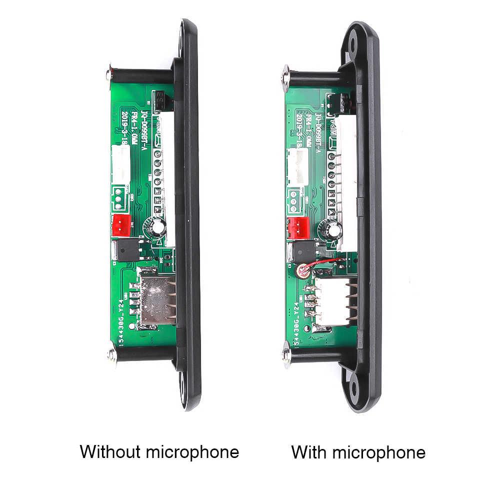 USB AUX سماعة بلوتوث للسيارة عدة FM راديو لاسلكي الصوت استقبال دعم USB 3.5 مللي متر TF aux لاعب العالمي 5 V- 12 V DC