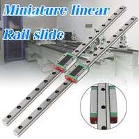 MGN12 12mm Miniature Linear Rail Slide+MGN12H Carriage for Kossel 3D Printer
