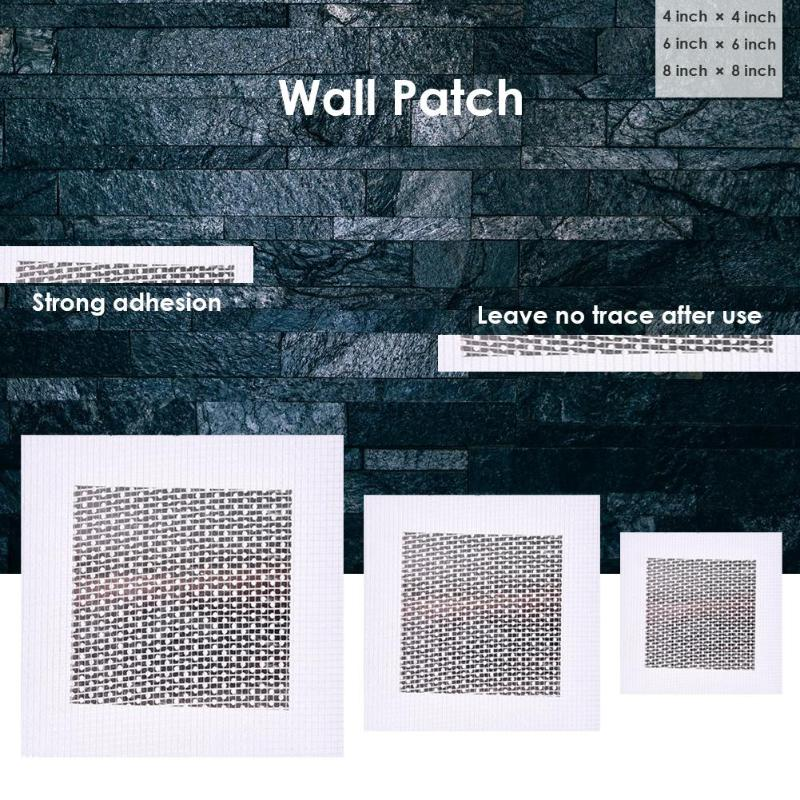 Aluminum-plastic Composite Board Self Adhesive Stickers Wall Patch Repairer Drywall Patch Repair Aluminum Plate Window Screen