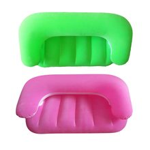 2Pcs Kids Air Chair Sofa Bed Lazy Been Bag Inflatable Flocking Beach Lounger newly home supplies bedroom furniture multifunctional lounger chair lazy sofa bed adjustable expansion sofa