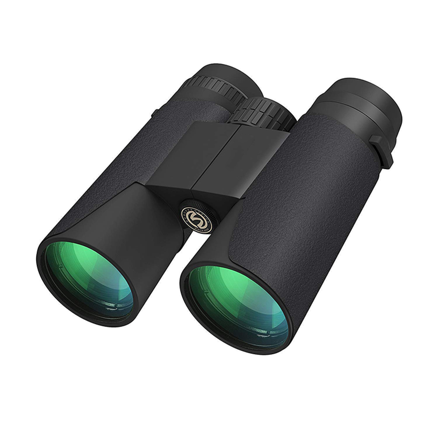 High Power Binoculars 12x42 Bak4 Prism For Adults Fogproof Waterproof Great For Bird Watching Travel Stargazing Hunting Concer image