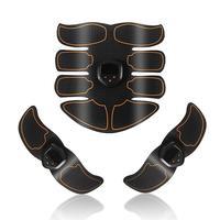 USB Rechargeable Fitness Kit Abdomen Instrument Muscle Training AB Belt Slimming Trainer Arm Leg Waist Abdominal Fitness Trainer